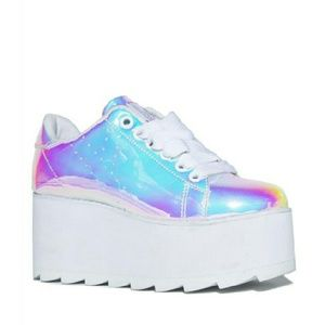 70bfc1038e YRU Shoes | Lala Atlantis Platforms | Poshmark